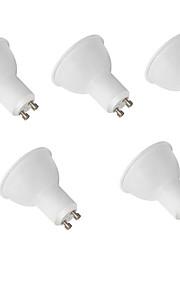 9W GU10 LED-spotpærer MR16 12 SMD 2835 800 lm Varm hvit / Kjølig hvit Dekorativ AC 220-240 V 5 stk.