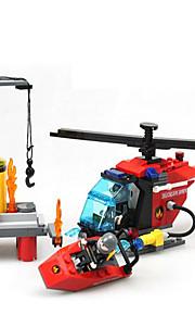 Bonecos & Pelúcias / Blocos de Construir para presente Blocos de Construir Modelo e Blocos de Construção Máquina / Navio / Helicóptero ABS