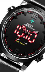 Masculino Relógio Esportivo / Relógio Militar / Relógio Elegante / Relógio de Moda / Relógio de Pulso QuartzLED / Luminoso / Punk /