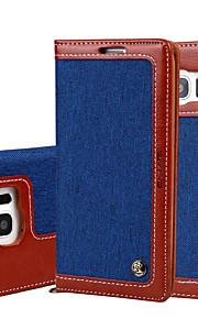 Per A portafoglio / Porta-carte di credito / Con supporto / Con chiusura magnetica Custodia Integrale Custodia Tinta unita Resistente