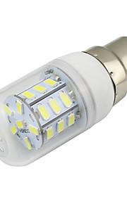 4W B22 LED-maïslampen T 27 SMD 5730 280 lm Warm wit Koel wit Decoratief V 1 stuks