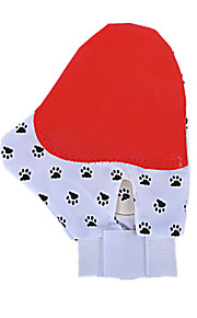 Dog Cleaning Brush / Baths Pet Grooming Supplies Massage Red / Random Color Fabric / Rubber