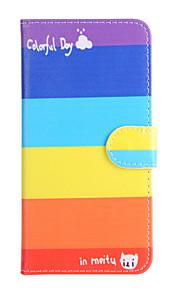 Für Kreditkartenfächer / Geldbeutel / mit Halterung / Flipbare Hülle Hülle Handyhülle für das ganze Handy Hülle Geometrische Muster Hart