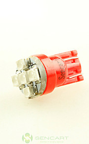 2 x super rød t10 194 168 W5W 5x 3528 bil side kile hale lys lampe pære DC12V