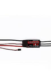Geral Geral RC Controlador de velocidade (ESC) RC Quadrotor Preto Metal / Plástico 1 Peça