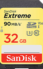 SanDisk 32GB SD Karten Speicherkarte UHS-I U3 Class10 V30 Extreme