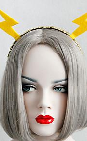Headpiece Innoittamana Cosplay Cosplay Anime Cosplay-Tarvikkeet Headpiece Keltainen Nonwoven Fabric Uros / Naaras / Lapsi
