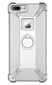 Für Stoßresistent / Ring - Haltevorrichtung Hülle Rückseitenabdeckung Hülle Einheitliche Farbe Hart Metall für Apple iPhone 7 plus