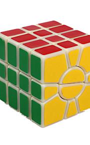 Legetøj Glat Speed Cube 4*4*4 Originale Minsker stress / Magiske terninger Guld ABS / Plastik
