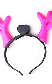 Headpiece Innoittamana Cosplay Cosplay Anime Cosplay-Tarvikkeet Headpiece Punainen / Sininen / Pinkki Kumi Uros / Naaras / Lapsi