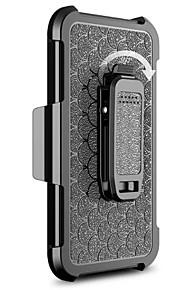 Per Resistente agli urti / Con supporto Custodia Integrale Custodia Tinta unita Resistente PC per Motorola MOTO G4 / Moto G4 Plus
