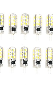 10 Pcs Trådbunden Others G4 24 led Smd 2835 AC220-240v 650 lm Warm White Cold White Double Pin Waterproof Lamp Övrigt