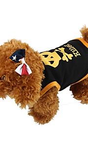犬用品 Tシャツ / ベスト レッド / イエロー / ブルー / ブラック 犬用ウェア 夏 スカル ファッション / カジュアル/普段着 / ハロウィーン