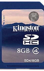Kingston 8GB SD Card geheugenkaart Class4