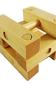 Kong Ming Lock Legetøj Træ Guld Til drenge Til piger 5 til 7 år 8 til 13 år 14 år og op efter