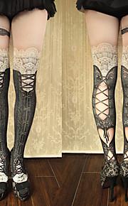 Socks/Stockings Gothic Lolita Sweet Lolita Classic/Traditional Lolita Punk Lolita LolitaSee Through Vintage Inspired Sexy Victorian