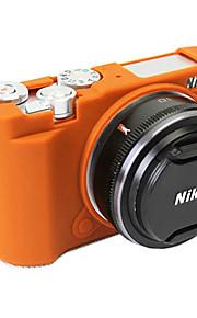Dengpin Soft Silicone Armor Skin Rubber Camera Cover Case Bag for Nikon J5 (Assorted Colors)