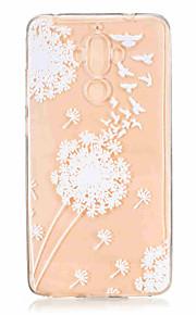 Per Fantasia/disegno Custodia Custodia posteriore Custodia Dente di leone Morbido TPU per HuaweiHuawei Honor 8 Huawei Honor 5C Huawei