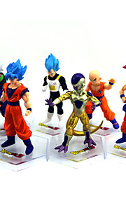 Inspired by Dragon Ball Goku Anime Cosplay Accessories Figure (6pcs)