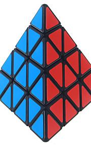Shengshou® Let Glidende Speedcube Pyraminx Professionelt niveau Magiske terninger Sort Fade Ivory glat Sticker / Anti-pop Justerbar fjeder