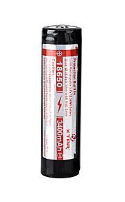 xtar 18650 3400mah 3.6V Li-ion oppladbart batteri
