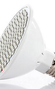 8W E26/E27 LED 글로우 조명 200 SMD 3528 800-850 lm 레드 블루 V 1개