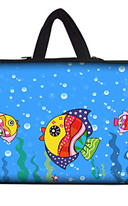 For MacBook Air Pro 11.3'' 13.6'' 15.4'' Laptop Sleeves Waterproof Soft Cover NoteBook Handbags Flexible Colorful  Painting