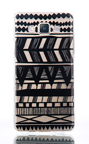 For Samsung Galaxy A510 A5 A310 A3 TPU Material Tribal Pattern Patterns Relief Phone Case