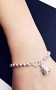 Bracelet Chain Bracelet Sterling Silver Fashion Gift Jewelry Gift Silver1pc