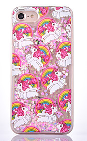 För Flytande vätska Mönster fodral Skal fodral Tecknat Hårt PC för AppleiPhone 7 Plus iPhone 7 iPhone 6s Plus/6 Plus iPhone 6s/6 iPhone