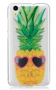 Voor Ultradun Patroon hoesje Achterkantje hoesje Fruit Zacht TPU voor Huawei Huawei Honor 5C