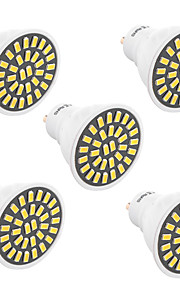 7W GU10 LED-spotpærer T 32 SMD 5733 500-700 lm Varm hvit Kjølig hvit Dekorativ V 1 stk.
