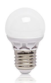 3W E26/E27 Lâmpada Redonda LED G45 12 SMD 2835 262 lm Branco Frio AC220 V 1 pç