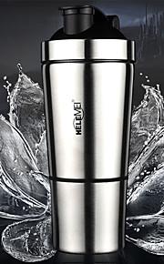 roestvrij staal eiwitpoeder schudden cup cup een schaal ketel van fitness enzym kopje melk kopje thee