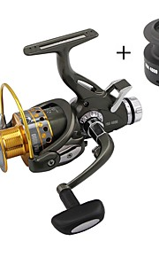 Fishing Reel Spinning Reels 5.1:1 9 Ball Bearings Exchangable Spinning Carp Fishing-FRA6000 YOLO