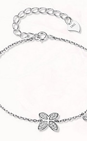 Chain Bracelet Sterling Silver Animal Natural Fashion Gift Jewelry Gift 1pc