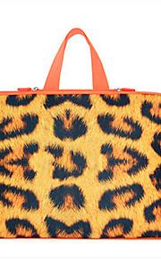 för macbook air pro 11,3 '' 13,6 '' 15,4 '' laptop ärmar vattentät mjuka täck bärbara handväskor flexibla leopardmönstrad förtjockning