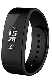 la vida IP54 a prueba de agua del sueño del ritmo cardíaco de oxígeno monitoreo paso Bluetooth 4.0 pulsera inteligente para ios android
