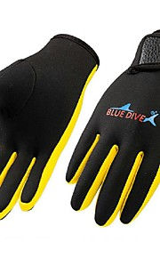 Diving Gloves Full-finger Gloves Winter Gloves Sports Gloves Cycling/Bike Hunting Fishing Leisure Sports Diving ShootingKeep Warm