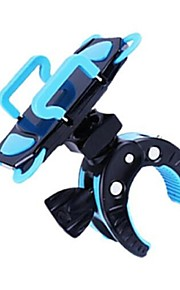 Bike Phone Mount Cycling/Bike For Cellphone Nylon PC PVC Heavy Duty Bike Phone Mount Holder with Tight Rubber Band & 360 degree Rotate