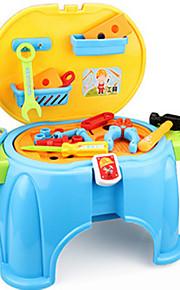 Brinquedos de Faz de Conta Novidades Quadrangular Plástico Azul Amarelo