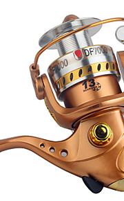 Fiskerullar Snurrande hjul 2.6:1 13 Kullager utbytbar Generellt fiske-DF GOLD