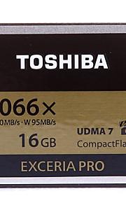 Toshiba 16GB Compact Flash  CF-Karte Speicherkarte EXCERIA PRO 1066X UDMA7
