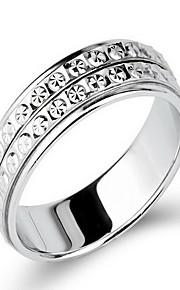 Ringe Ikke-sten Fest Daglig Smykker Sølv Dame Ring 1 Stk.,12 15 18 20 22 Sølv