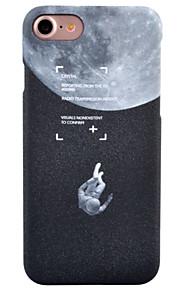 For Syrematteret Mønster Etui Bagcover Etui Landskab Hårdt PC for AppleiPhone 7 Plus iPhone 7 iPhone 6s Plus iPhone 6 Plus iPhone 6s