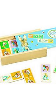 puslespil Pædagogisk legetøj Byggesten Gør Det Selv Legetøj 1 Træ Regnbue Hobbylegetøj