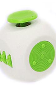 Brinquedos liso velocidade cubo novelty stress relievers cubo mágico vermelho cinza plástico
