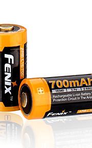 fenix 16340 700mAh 3.7v Li-Ion laddningsbart batteri-ARB-l16-700