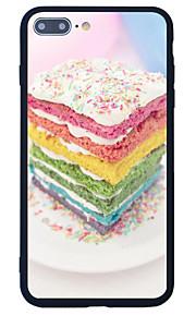 För Mönster fodral Skal fodral Kakel Hårt Akrylfiber för Apple iPhone 7 Plus iPhone 7 iPhone 6s Plus/6 Plus iPhone 6s/6 iPhone SE/5s/5
