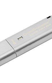 kingston dtlpg3 8G USB3.0 256-bit AES maskinvarekryptering